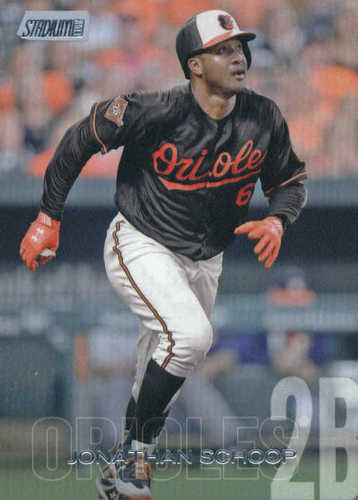 Photo of 2018 Stadium Club #283 Jonathan Schoop