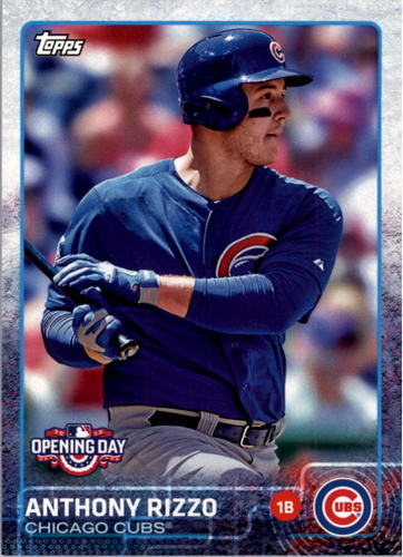 Photo of 2015 Topps Opening Day #11 Anthony Rizzo
