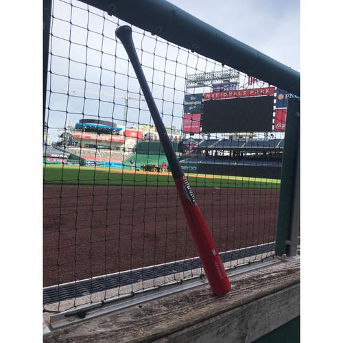 Photo of Game-Used Juan Soto Broken Bat - 9/26/2018
