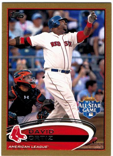 Photo of 2012 Topps Update Gold #US292 David Ortiz