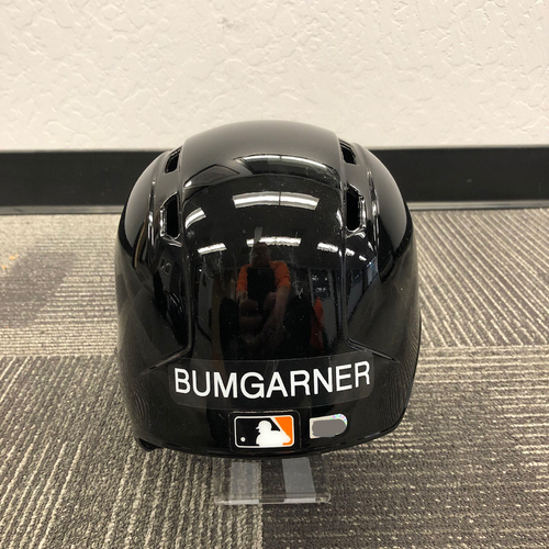 Photo of 2019 Team Issued Spring Training Helmet (Right Handed Batter) - #40 Madison Bumgarner - Size 7 1/2