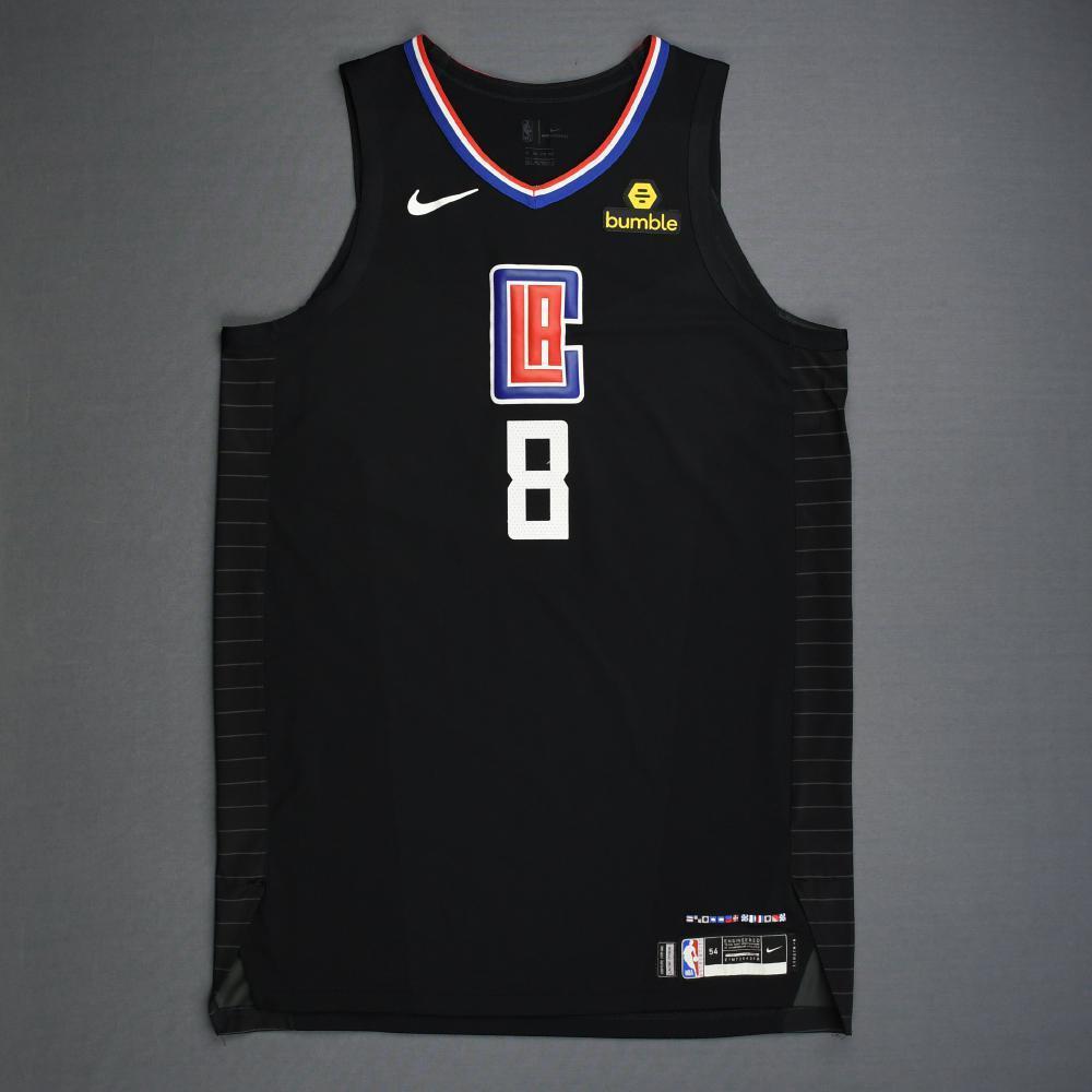 Danilo Gallinari - Los Angeles Clippers - 2019 NBA Playoffs - Game-Worn Black Statement Edition Jersey