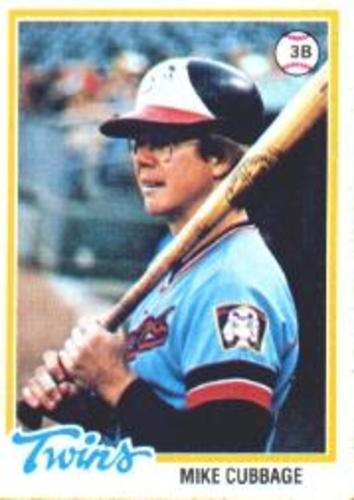 Photo of 1978 Topps #219 Mike Cubbage
