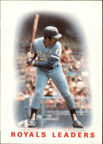 Photo of 1986 Topps #606 Royals Leaders/Hal McRae