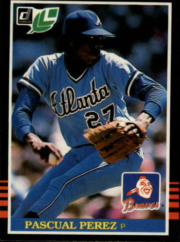 Photo of 1985 Leaf/Donruss #55 Pascual Perez