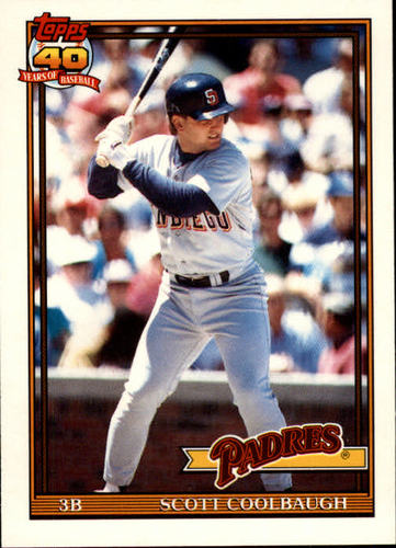 Photo of 1991 Topps Traded #24T Scott Coolbaugh