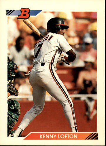 Photo of 1992 Bowman #110 Kenny Lofton