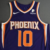 Ty Jerome - Phoenix Suns - Game-Worn Icon Edition Rookie Debut Jersey - 2019-20 Season