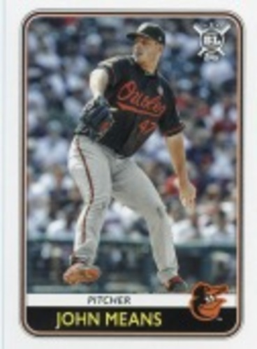 Photo of 2020 Topps Big League #147 John Means