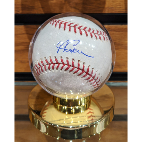 Photo of Andrew Benintendi Autographed Baseball