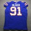 Crucial Catch - Bills Ed Oliver Game Used Jersey (10/6/19) Size 46