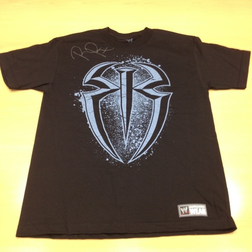 Roman Reigns SIGNED Authentic T-Shirt