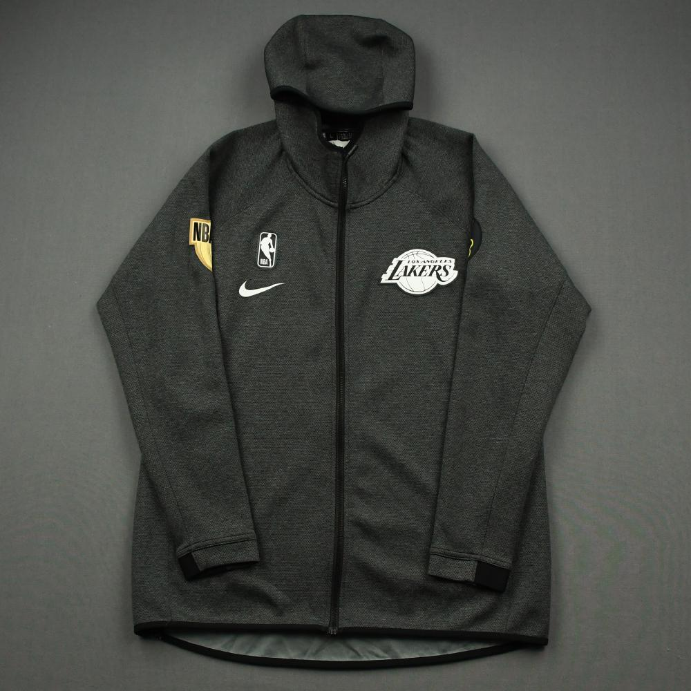 JR Smith - Los Angeles Lakers - 2020 NBA Finals - Game-Issued Hooded Warmup Jacket