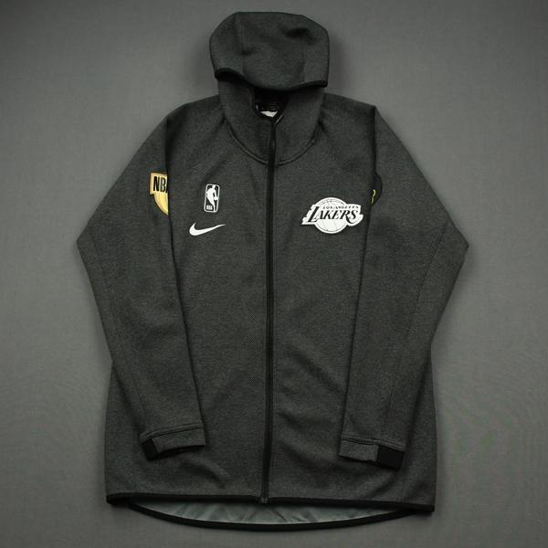 Image of JR Smith - Los Angeles Lakers - 2020 NBA Finals - Game-Issued Hooded Warmup Jacket