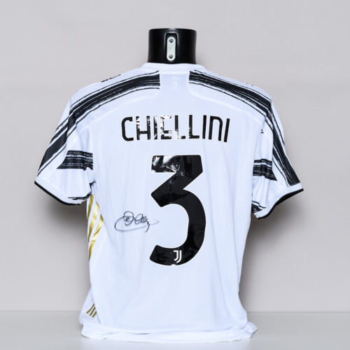 Photo of 20/21 Juventus Jersey - signed by Giorgio Chiellini