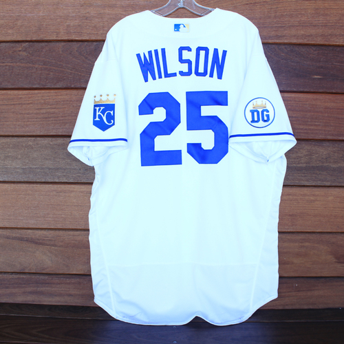Photo of Game-Used 2020 Los Reales Jersey: Vance Wilson #25 (PIT @ KC 9/12/20) - Size 50