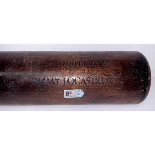 Photo of Team Issued Tim Locastro Broken Bat