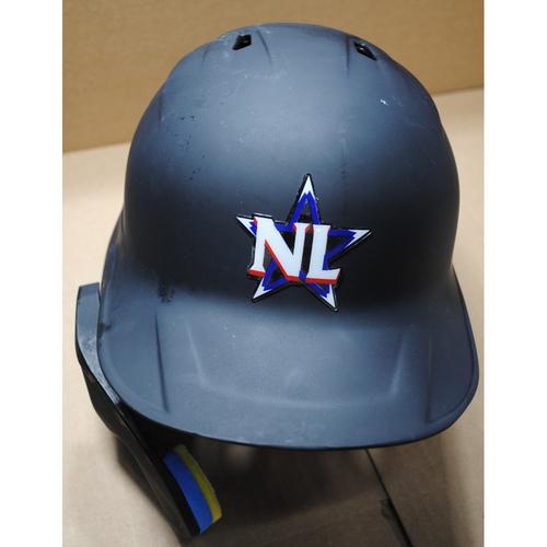 Photo of 2021 MLB All-Star Game -  Game-Used Batting Helmet - Adam Frazier