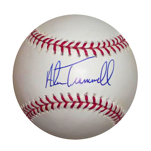 Photo of Detroit Tigers Alan Trammell Autographed Baseball