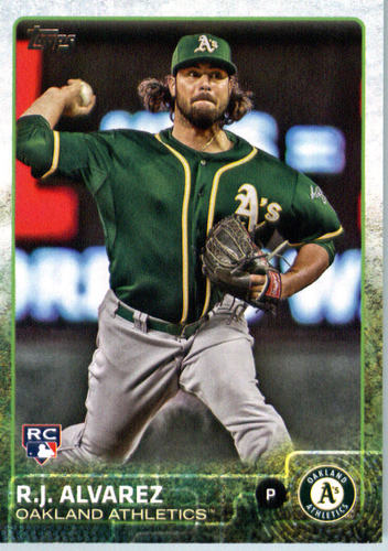 Photo of 2015 Topps Update #US261 R.J. Alvarez RC