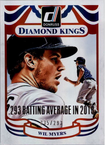 Photo of 2014 Donruss Stat Line Season #220 Wil Myers DK/293