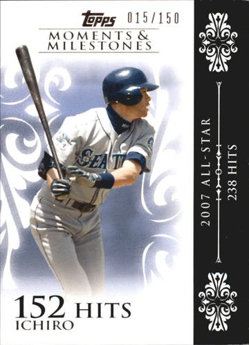 Photo of 2008 Topps Moments and Milestones #63-152 Ichiro Suzuki