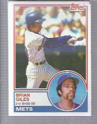 Photo of 1983 Topps #548 Brian Giles