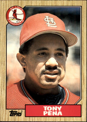 Photo of 1987 Topps Traded #95T Tony Pena