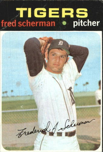 Photo of 1971 Topps #316 Fred Scherman RC
