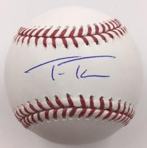 Photo of Trea Turner Autographed Baseball