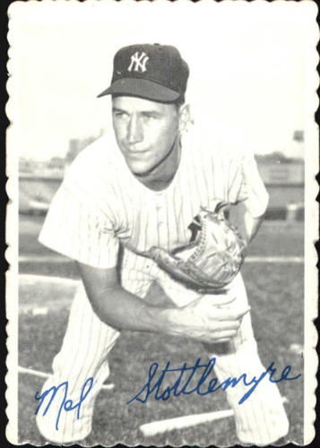Photo of 1969 Topps Deckle Edge #13 Mel Stottlemyre
