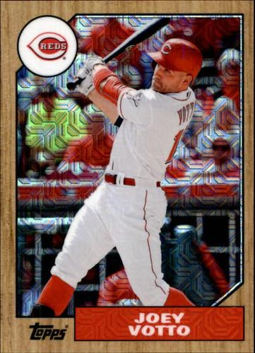 Photo of 2017 Topps '87 Topps Silver Pack Chrome #87JV Joey Votto
