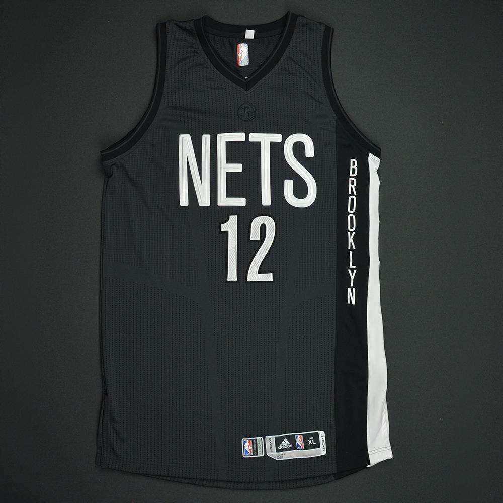 detailed look f9354 ef5ef Joe Harris - Brooklyn Nets - Game-Worn Black Alternate ...