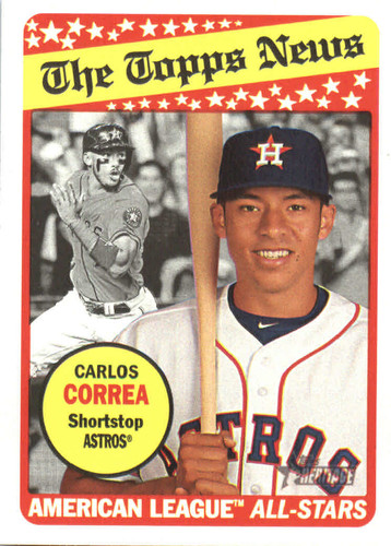 Photo of 2018 Topps Heritage #127 Carlos Correa