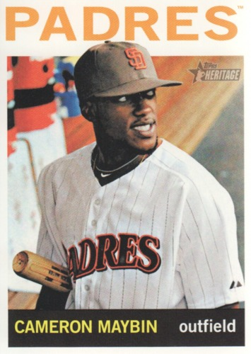 Photo of 2013 Topps Heritage #68 Cameron Maybin