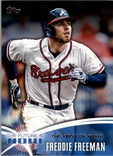 Photo of 2014 Topps The Future is Now #FN52 Freddie Freeman