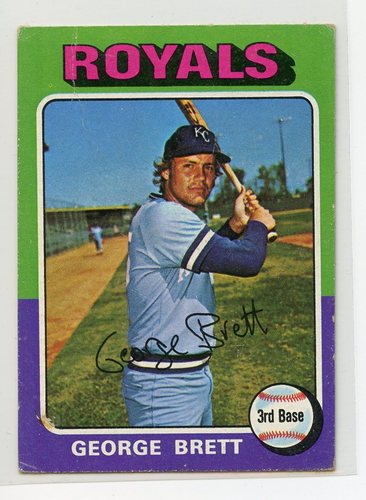 Photo of 1975 Topps Mini #228 George Brett RC