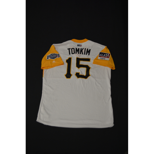 "Photo of 2019 Little League Classic - Game Used Jersey - Pablo ""Tomkim"" Reyes,  Chicago Cubs at Pittsburgh Pirates - 8/18/2019 (Size - 44)"
