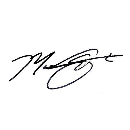 Photo of Max Scherzer Name Only Signed Equipment Send-In Ticket *PRE-SALE