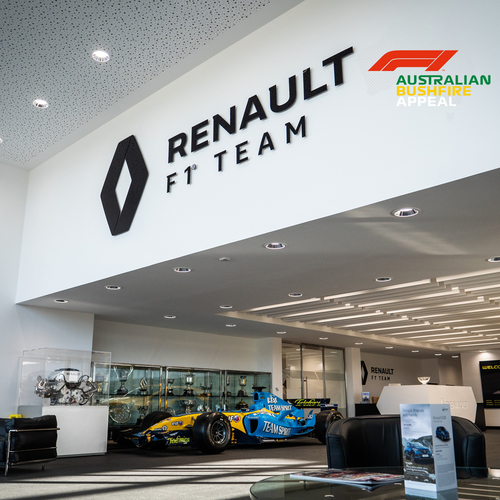 Photo of Renault F1 Team Factory Tour