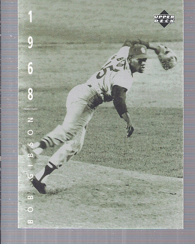Photo of 1994 Upper Deck: The American Epic #69 Bob Gibson