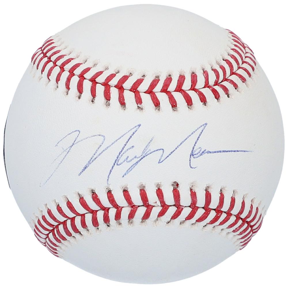 Mark Messier New York Rangers Autographed Baseball