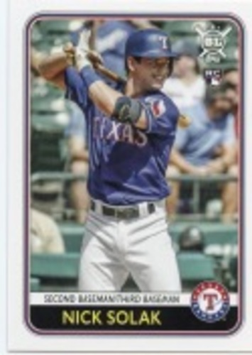 Photo of 2020 Topps Big League #156 Nick Solak RC