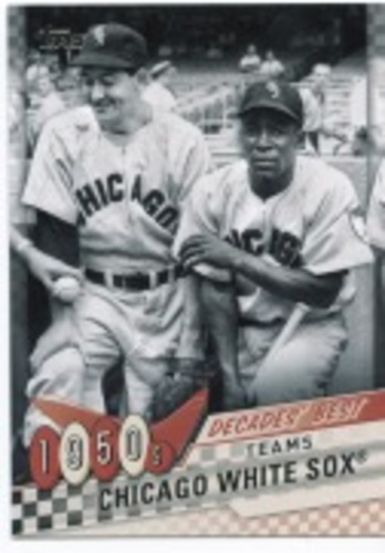 Photo of 2020 Topps Decades' Best Series 2 #DB10 Chicago White Sox