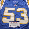 Chargers - Steve Foley Game Used Jersey Size 50
