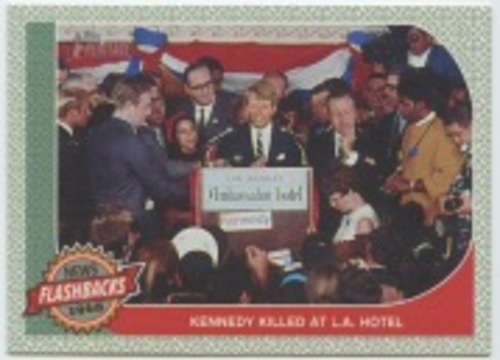 Photo of 2017 Topps Heritage News Flashbacks #NF3 Kennedy Assassination