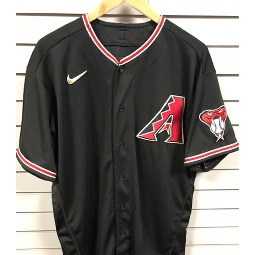 Photo of Wyatt Mathisen 2020 Game-Used Black Alternate Jersey - 9/26/20 vs. Rockies, Size 48