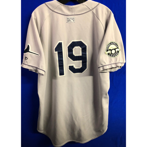 Photo of Team Issued Appalachian League Gray Jersey - #19