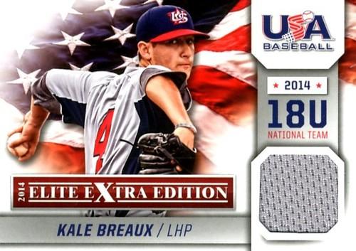 Photo of 2014 Elite Extra Edition USA Baseball 18U Game Jerseys #14 Kale Breaux