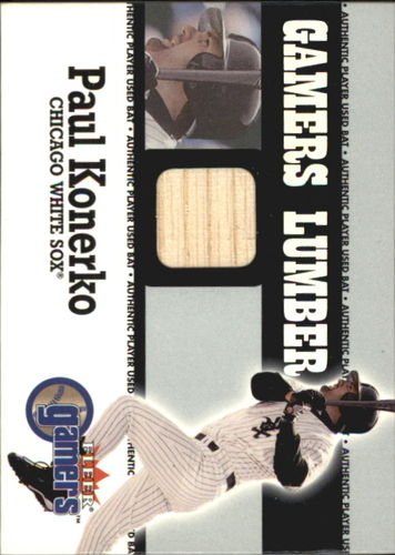 Photo of 2000 Fleer Gamers Lumber #28 Paul Konerko